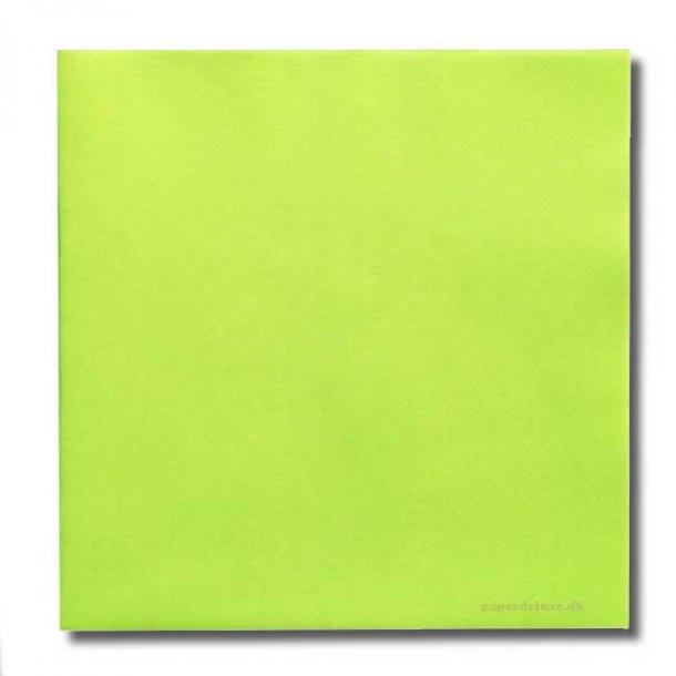 Ihr Lime airlaid/tekstilservietter, middagsstr., 12 stk.