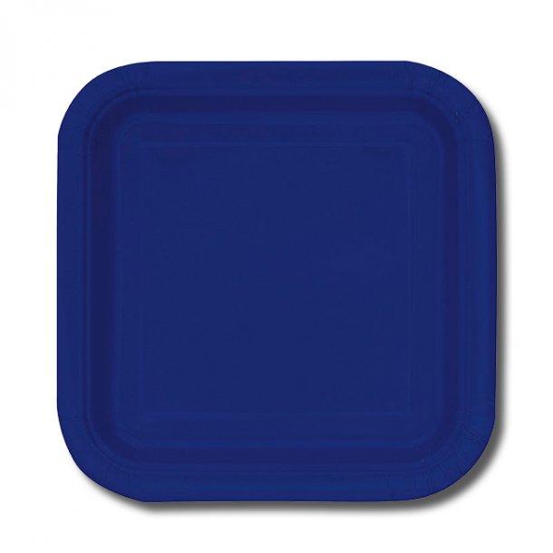 Paptallerkner Middag - Mørkeblå, 14 stk.