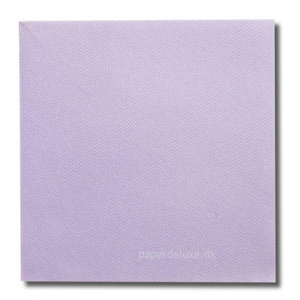 Gennemfarvede Lyslilla airlaid/tekstilservietter, middag, 12 stk