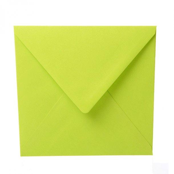 Kuvert, Lime 16,5 x 16,5