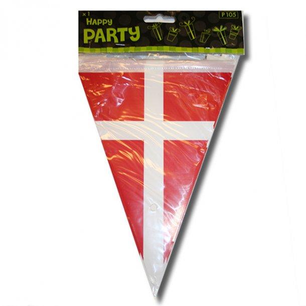 Flagguirlande, Dannebrog, 3 meter.