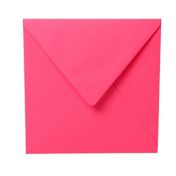 Kuvert, Fuchsia/Pink 16,5 x 16,5
