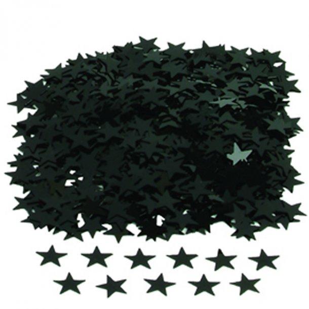Konfetti, Sorte Stjerner, 14 gr.