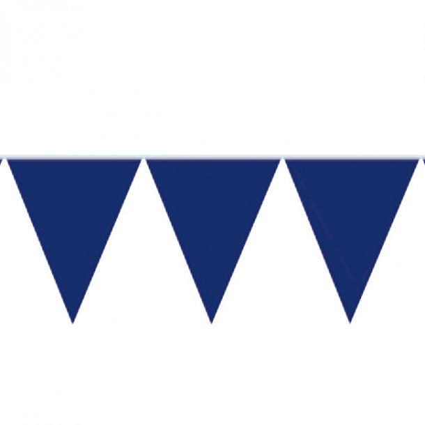 Flagbanner/guirlande, Blå, 10 meter