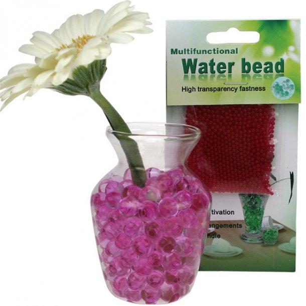 Vandperler, pink, 10 gram.