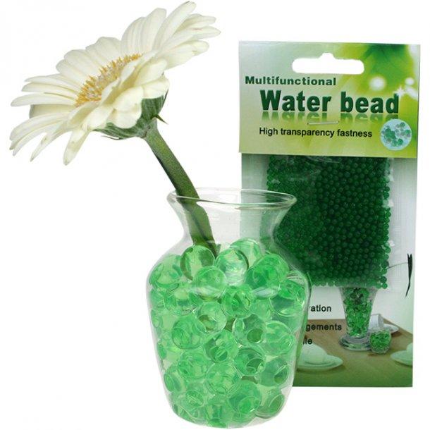 Vandperler, grøn/lime, 35 gram.