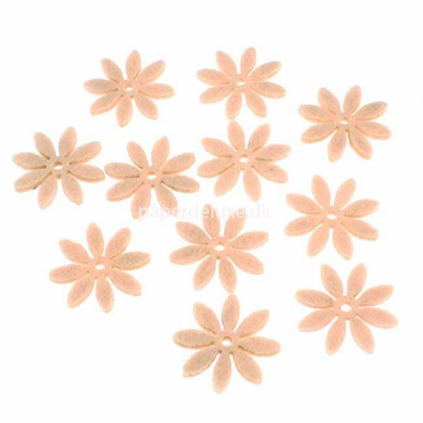 Filt blomst, Pudder mellemstr., 18 stk